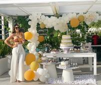 Sandra Berrocal celebra su cumpleaños soltera